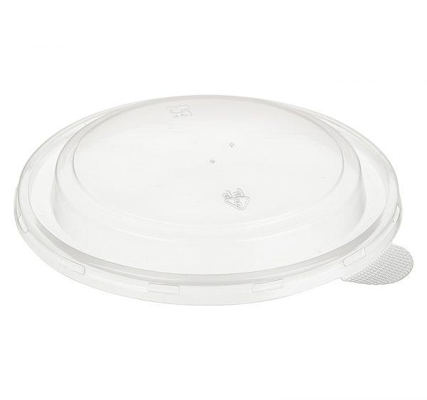 Papírdoboz műanyag fedél PP TaMbien d=166mm 1090 ml, kúp alakú (100 db/csomag)