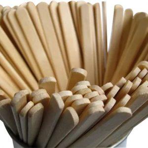 Kávékeverő pálcika fa 18 cm 1000db/csomag
