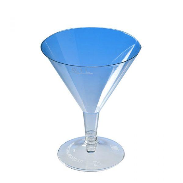 Martinis pohár PS 100ml, átlátszó (240 db/csomag)
