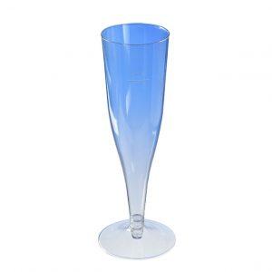 Pezsgős pohár flutes PS 180ml, átlátszó (450 db/csomag)