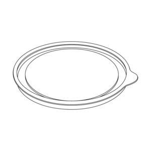 SK-180K standard fedél d=99mm h=6mm (1100 db/csomag)