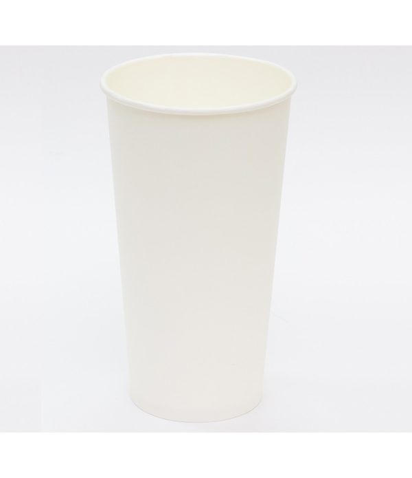 Pohár 500 ml papír d=90 mm fehér forró italokhoz (50 db/csomag)
