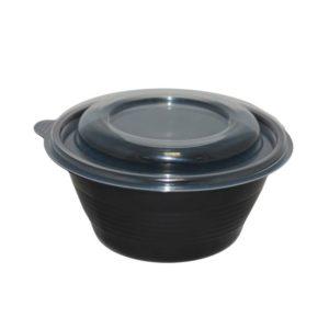 Leveses tányér fedele PP PR-МS-K, átlátszó (90 db/csomag)