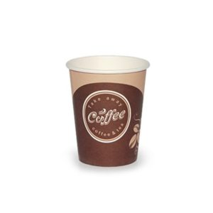 Pohár 250 ml papír d=80 mm Coffee take away (50 db/csomag)