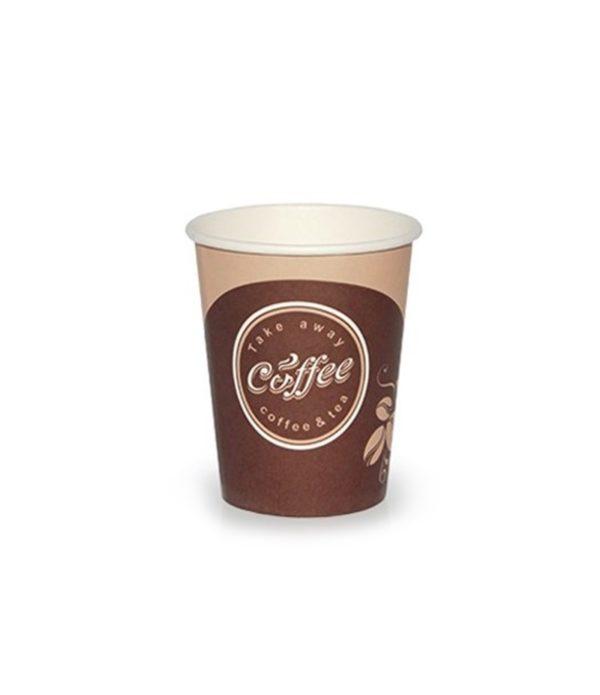 Pohár 250 ml papír d=80 mm Coffee take away (50 db/csomag)