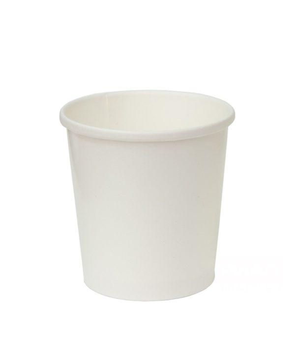 Papírdoboz d=98mm, h=99mm 500 ml fehér forró italokhoz (25 db/csomag)