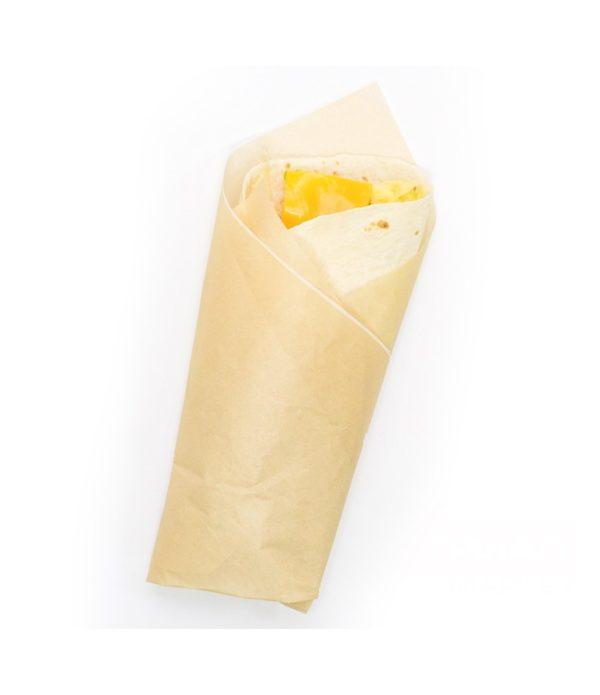 Hamburger csomagolás kraft papír 305х305mm (1000 db/csomag)