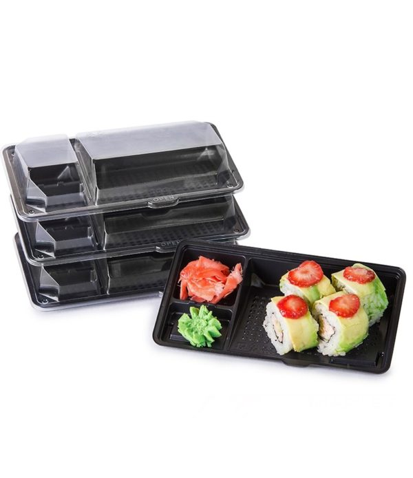 PS sushi doboz KD-009 195х106х40mm (1000 db/csomag)