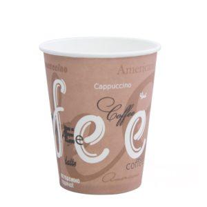 250 ml Papír pohár d=80mm Coffee forró italok számára (50 db/csomag)