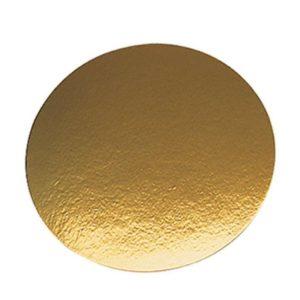 Karton alátét d=240mm arany (50 db/csomag)