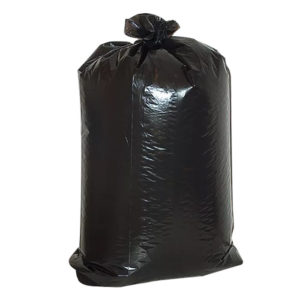 Szemeteszsák120l magas- és alacsonynyomású polietilén fekete nagy teherbírású (50 db/csomag)