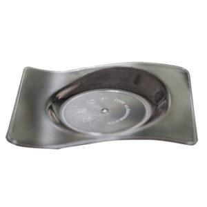 Csészealj forma 80х66mm PS, 10ml átlátszó (500 db/csomag)