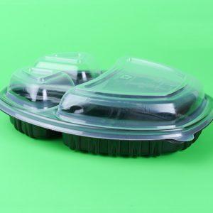 Csészetartó PP SP 257x202mm h-35mm, 3 komponens, átlátszó színű (70 db/csomag)