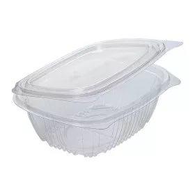 PET doboz, 156x129x53 mm, 500 ml fedéllel (75 db/csomag)