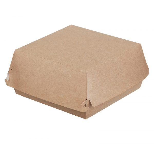 Hamburgeres doboz 150х150х65 mm, kraft (150 db/csomag)