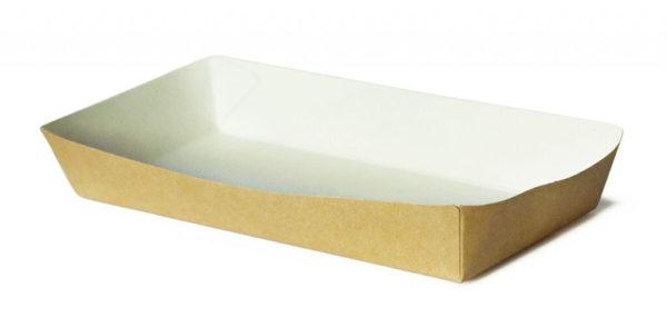 Gyorséttermi papír törölköző Ekoline 180х80х30mm, kraft (220 db/csomag)