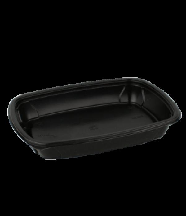 Doboz PP SP 230х170х37mm, 750ml fekete (100 db/csomag)