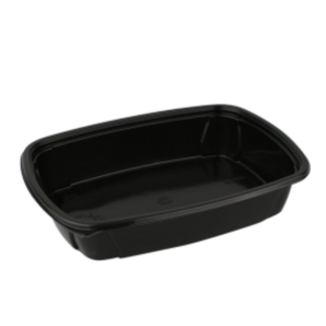 Doboz PP SP 230х170х50mm, 1000ml fekete (100 db/csomag)