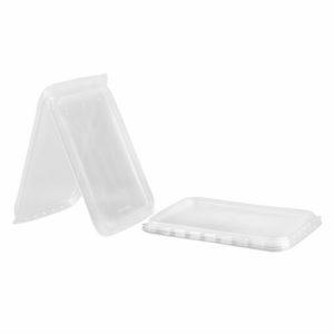 Üveg kupak PP DP 186×132 mm átlátszó (50 db/csomag)