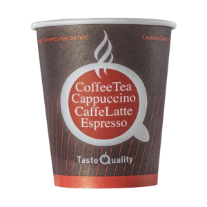 Papirnat kozarec 180 (205) ml za tople napitke, d=72 mm, Coffee TQ