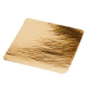 Karton alátét 210х210mm arany (50 db/csomag)