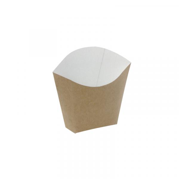 Sültkrumplis doboz 81/70 x 49/43 x 71/107mm, kraft (25 db/csomag)