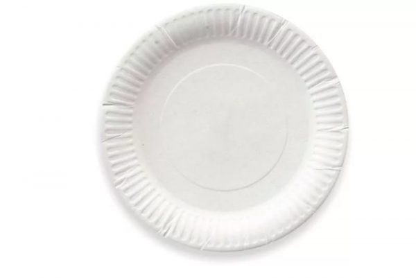 Kerek fehér tálca d = 165 mm karton (100 db/csomag)