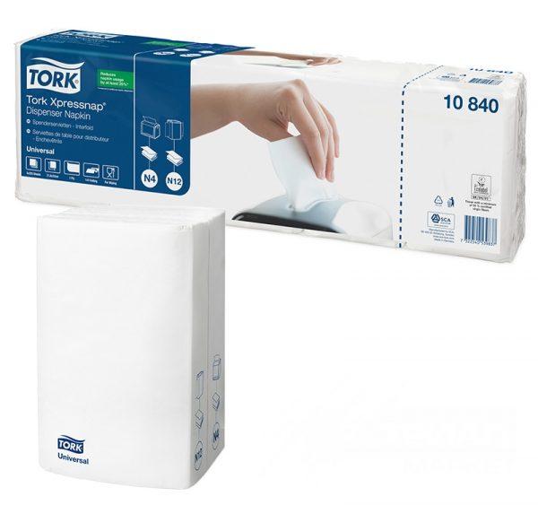 Papír szalvéta TORK Universal N4 1 rétegű 225 l/csomag fehér (10840)