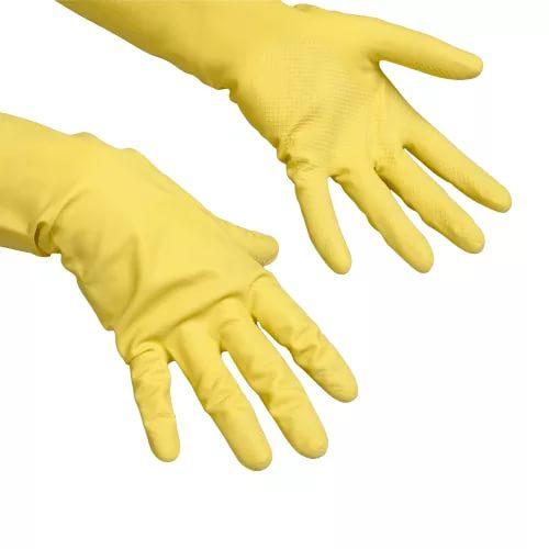 Gumikesztyű Vileda Contract sárga XL (102588/101969)