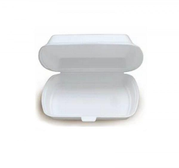 """Ebédes doboz hungarocell 1 rész 195х150х70mm LBS """"A"""" (100db/cs.)"""