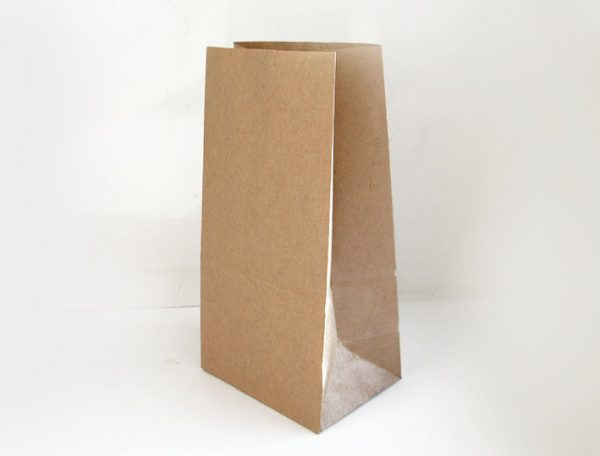 Papírzacskó 220х120х290mm, kraft 50 g (1000 db/csomag)