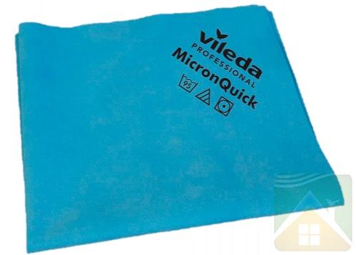 Mikroszálas szalvéta 38х40cm 5db/csomag Vileda MicronQuick világoskék (152109/152105)