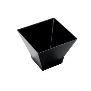 Pagoda sütőforma, 120 ml, fekete PS, Goldplast (25 db/csomag)