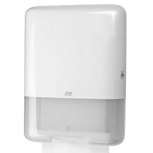 Tork H3 papírtörölköző adagoló Z és C hajtogatású fehér (553000)