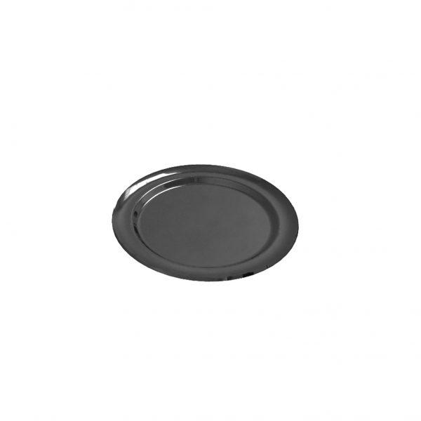 Kerek tálca Goldpast fekete (5 db/csomag)