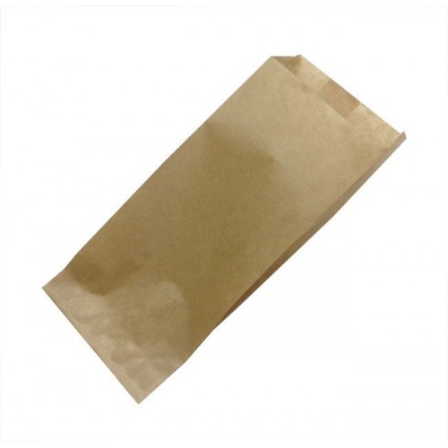 Papírzacskó 80х45х185 mm, kraft (500 db/csomag)