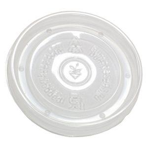Papírdoboz műanyag fedél PP d=90mm 300 ml (100 db/csomag)
