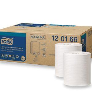 Papírtörölköző 1 rétegű 275m Tork Universal M2 fehér tekercs (120166)