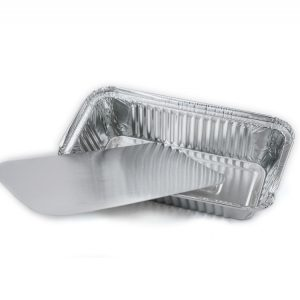 Alumínium forma fedél 217х113mm/Lid for aluminium foil container 217*113mm (50 db/csomag)