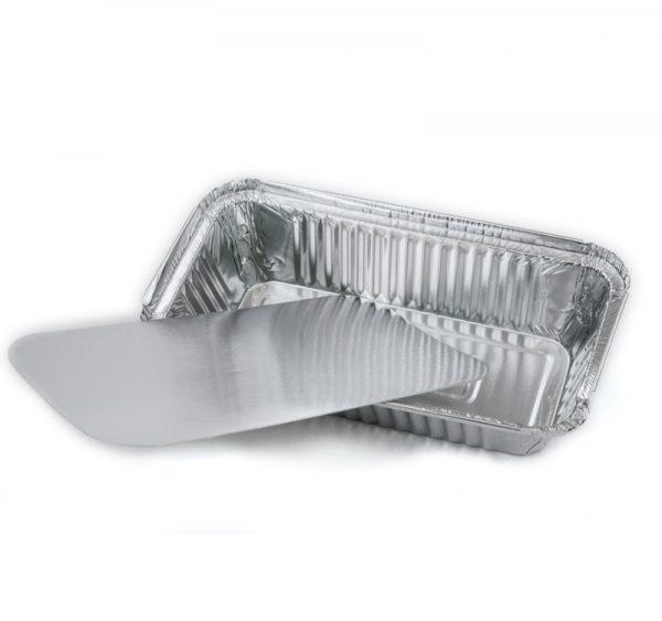 Alumínium forma fedél 217х113mm/Lid for aluminium foil container 217*113mm (50 db/csomag)