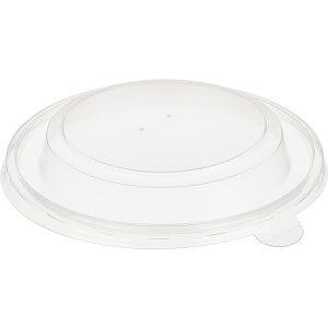Papírdoboz műanyag fedél PP TaMbien d=135mm 720 ml, kúp alakú (50 db/csomag)