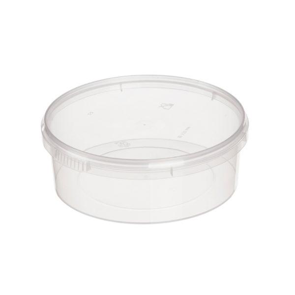 PP élelmiszer tároló doboz 725ml d=170mm h=47 (240 db/csomag)