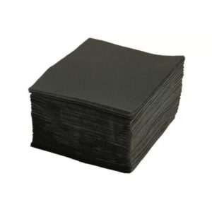 TaMbien papír szalvéta 1 rétegű, fekete 33х33 300 l/csomag