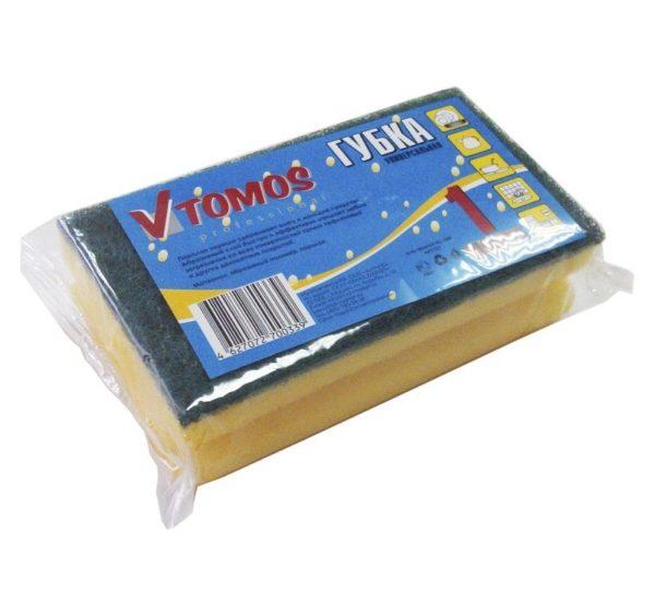 ToMoS szivacs dörzsölővel 90х150 mm