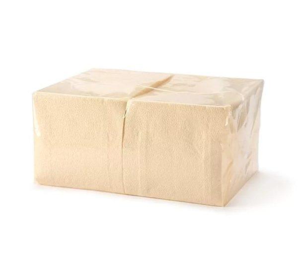 TaMbien papír szalvéta 1 rétegű, pezsgőszín 24х24 400 l/csomag