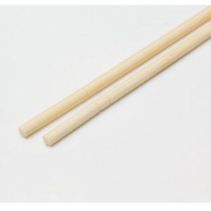 Ételpálcika kerek, egyedi műanyag csomagolásban (100 db/csomag)