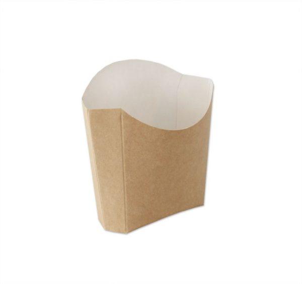 ECOline sültkrumplisdoboz, kraft 80 g (500 db/csomag)