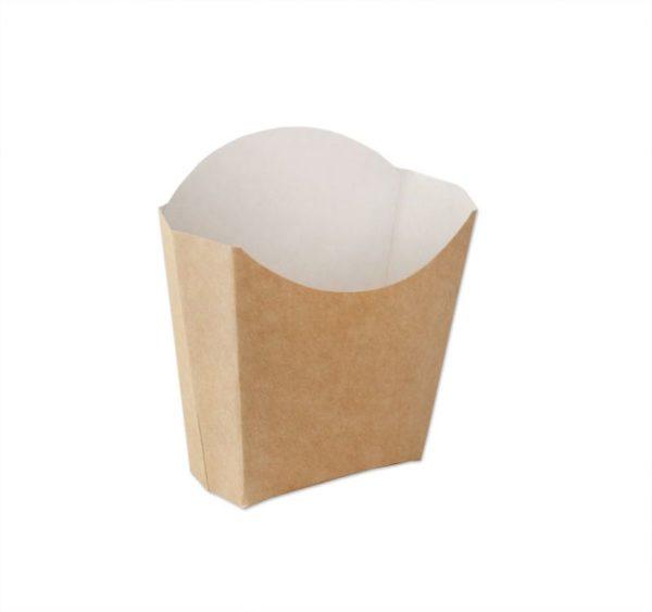 ECOline sültkrumplisdoboz, kraft 100 g  (500 db/csomag)