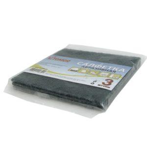 ToMoS dörzsölő szalvéta 13х13 cm 3 db/csomag