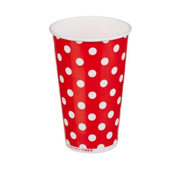 Lollipop papírpohár 1 rétegű, hideg italokhoz 400 (50 db/csomag)